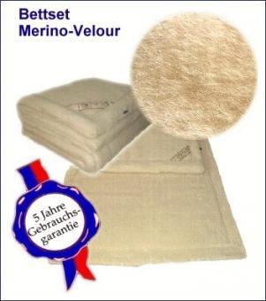 MERINO-Velour Komplettset